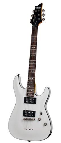 Schecter OMEN-6 6-String Electric Guitar, Vintage White