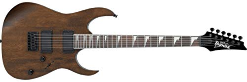 Ibanez GRG 6 String Solid-Body Electric Guitar, Right, Walnut Flat, Full (GRG121DXWNF)