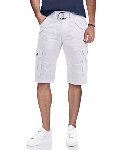 Mens Tactical Bermuda Cargo Shorts Camo and Solid Colors 12.5