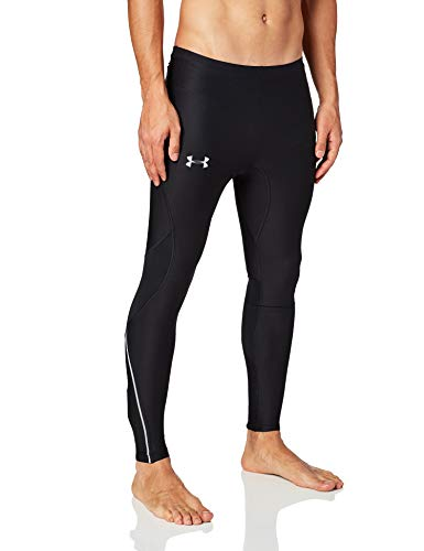Under Armour Men's CoolSwitch Run Tights, Black (001)/Reflective, Small