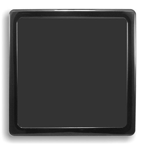 Demciflex - Filtro Antipolvo para Ventilador de Ordenador (200 mm), Color Negro
