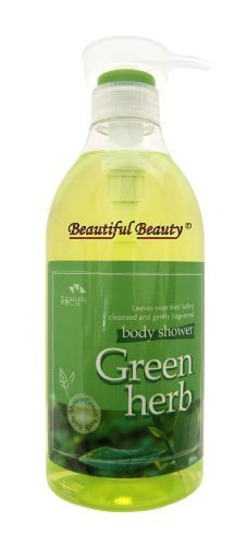 SOMANG GREEN HERB BODY SHOWER 750ml by THE FLOWER MEN