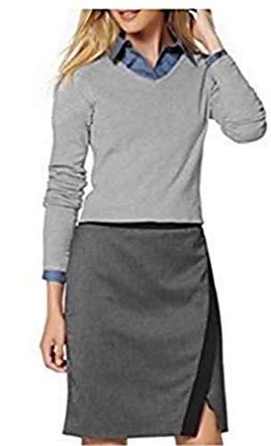 Pullover Kurz Damen von Buffalo - Grau Gr. 40/42