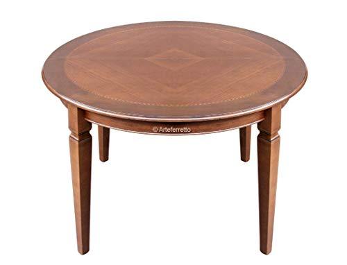 Arteferretto Table Ronde diamètre 120 cm marquetée