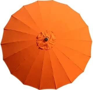 Bond Shanghai 9 Foot Outdoor Patio Umbrella (Orange)