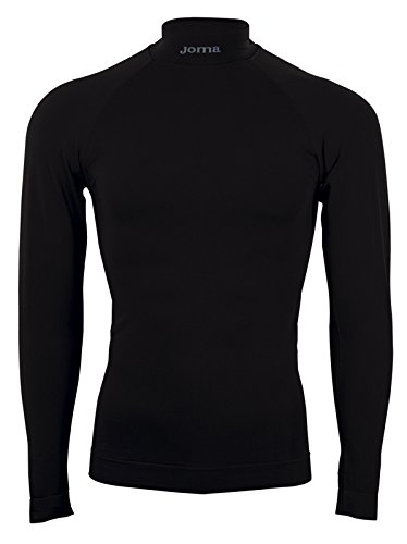 Joma 3477.55.101S T-Shirt Thermique Sportswear, Noir, FR Ans (Taille Fabricant : 8-10)