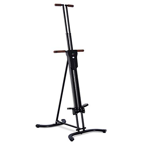 Why Choose Soozier Folding Adjustable Step Machine Vertical Climber Exercise Fitness Equipment for H...