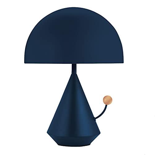 Lámpara Escritorio Creativo labrado de hierro mesita de noche lámpara de cama simple diseño dormitorio mesita de noche lámpara sala de estar estudio lámpara mesa decoración casera lámpara Lampara de l
