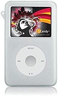 Snap-On Rubberized Skin Soft Case Cover for iPod Classic 80GB 160GB 120GB Accessory (White)