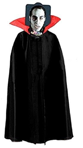 EVRYLON Capa de Vampiro Hombre Capa de Vampiro Demonio Noble drácula Talla única
