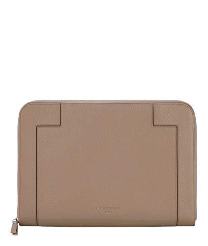 Liebeskind Berlin L-Bag Traveler Case Laptop Tasche, Large (21 cm x 29 cm x 1cm), taupe