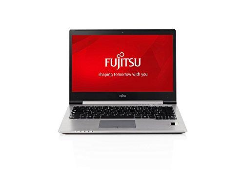 Fujitsu LIFEBOOK U745 Ultrabook 35,6 cm (14 Zoll) Notebook (Intel Core-i7 5600U, 2,6GHz, 8GB RAM, 256GB SSD, 4G, Touchscreen, Palm Vein Sensor, Win 8.1) grau