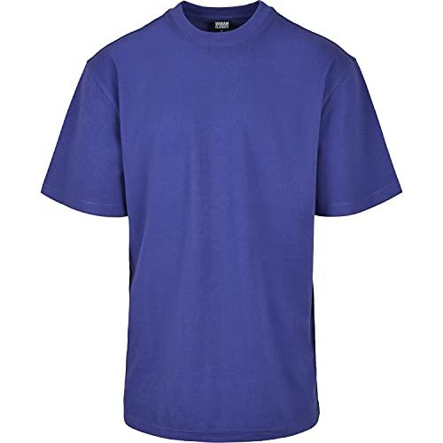 Oferta de Urban Classics Basic Crew Neck Tall tee Camiseta, bluepurple, L para Hombre