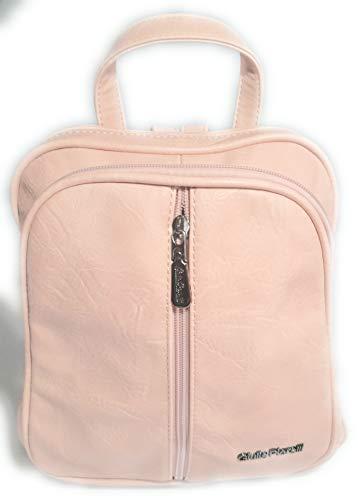Giulia Pieralli Rucksack Neu Rosa Farbe City Bag