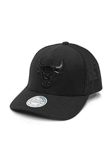 Mitchell & Ness INTL307 Chicago Bulls - Gorra, color negro Negro Talla única