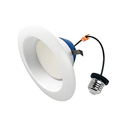 Cree Lighting TRDL6-0802700FH50-12DE26-1-11 26-1-11 6 inch LED Retrofit Downlight 75W Equivalent (Dimmable) 825 lumens Soft White 2700K 1 Pack