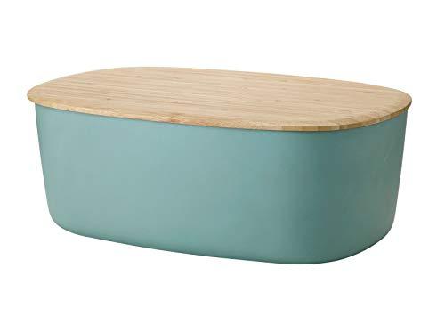Stelton Rig Tig - Box-IT Brotkasten - Dusty Green/staubgrün - Melamin - 12,3x22,7x34,5cm