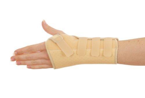 Negro o crema de muñeca de neopreno apoyo con estancias RSI túnel carpiano,  escafoides,  artritis,  fractura Post diseñado por profesionales ortopédicos crema beige Talla:xl (cream only) 21-  23cm wrist