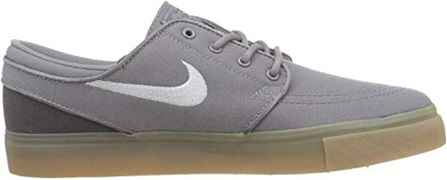 Nike Jungen Stefan Janoski (gs) Skateboardschuhe, Grau (Gunsmokesea/White/Thunder Grey/Gum Lt Brown 025), 36 EU
