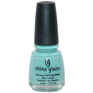 China Glaze Esmalte de uñas con endurecedores - Efecto lacado - Para Audrey, 1er Pack (1 x 14 ml)