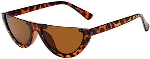 ZYIZEE Gafas de Sol Gafas de Sol para niñas con Montura Femenina Gafas de Sol Ultravioleta integradas en Siete Colores-A