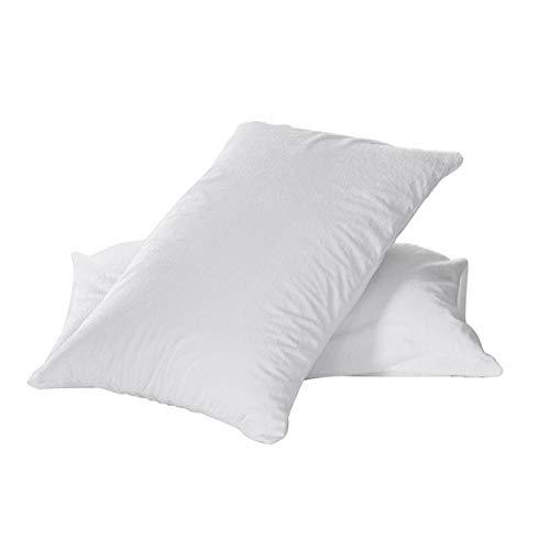 Shenykan Cómodo diseño ergonómico Funda de colchón Impermeable y Transpirable Sábana Protectora Profunda Cojín de Cama hipoalergénico