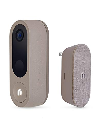 Nooie Video Doorbell Camera with Chime, Wireless...