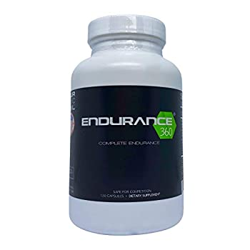 Endurance360 Complete Sports Performance for Runners Cyclists Triathletes and Ultra Athletes Designed for Aerobic Energy Recovery Boost Vo2 Max Muscle Cramp with Electrolytes and Aminos
