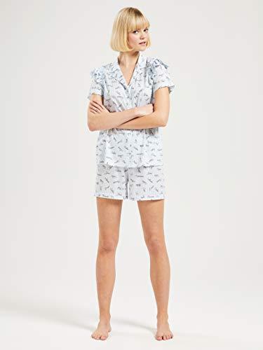 CALIDA Damen Viktor & ROLF Pyjamaset, Placid Blue, XS