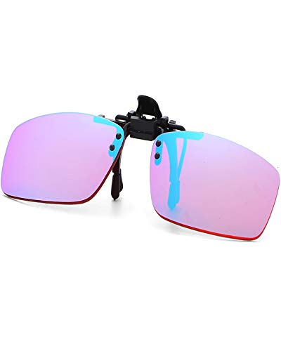 KTYX Red-Green Color Blind Glasses Clip-on for Men - Colorblind Enchroma Glasses to See Color - Colorblind Correcting Glasses - Give You Life Changing - Color Glasses (Size : Pilot Type)