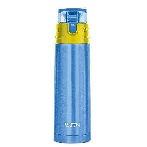 Milton Atlantis 600 Thermosteel Hot and Cold Water Bottle, 500 ml, Blue