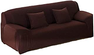 Home Decor,Sofa Cover for 2 Seater -Coffee