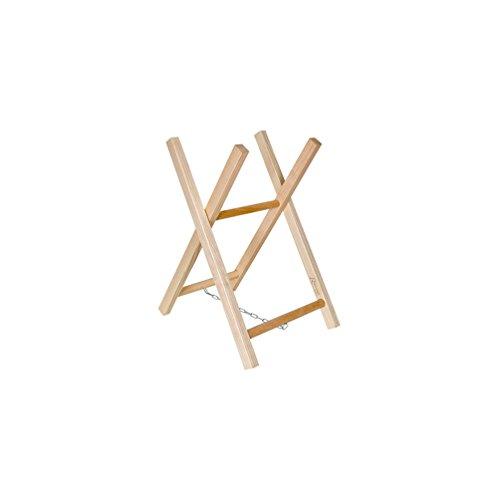 Ribiland - Chevalet bois pour sciage H. 68 cm, larg. 40 cm, section 30 x 35 mm avec chaîne - PRICPBB2 - Ribiland
