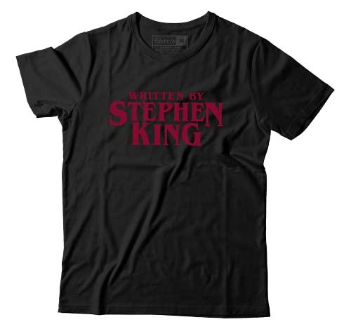 Camiseta Escrito Por Stephen King Written by Terror It Iluminado (M)