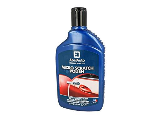 ABEL Auto 800303 Micro-Kratzer-Politur 5 Jahre Entfernung von Mikro-Kratzern für langanhaltenden Glanz Flasche 500 ml