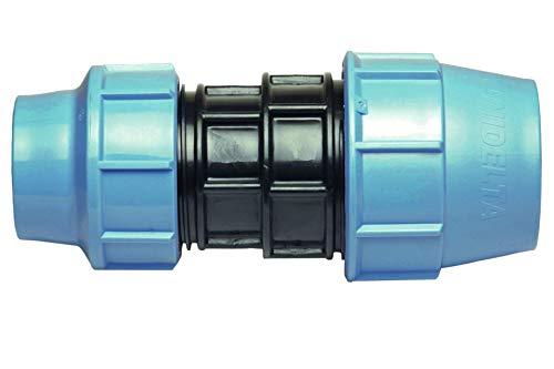 32 mm auf 25 mm Reduziermuff MDPE PE-Wasserrohr, Kunststoff-Buchse, Adapter