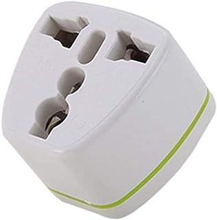 全世界対応マルチ変換プラグA型(海外電化製品を日本で利用) A,BF, C, B3, O,B, コンセント変換アダプター 電源形状変換プラグ 世界の家電を日本で使える, 世界のコンセントを日本仕様に変換 (1個)