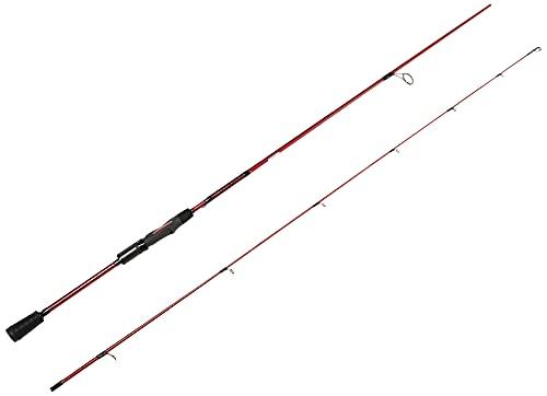 Ugly Stik Carbon Spinning Fishing Rod, Red/Black, 7' - Medium - 1pc