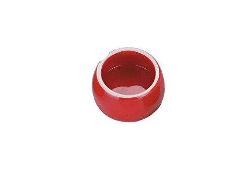 Nobby Keramik Futtertrog rot 125 ml