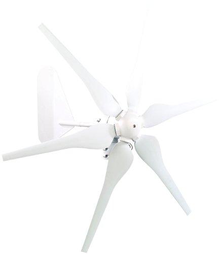 reVolt Windrad: Windgenerator für 12-Volt-Systeme, 300 Watt (Windgenerator 12V)