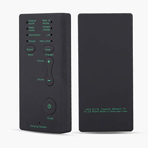 Tarjeta de sonido de audio externa de larga vida útil portátil para webcast