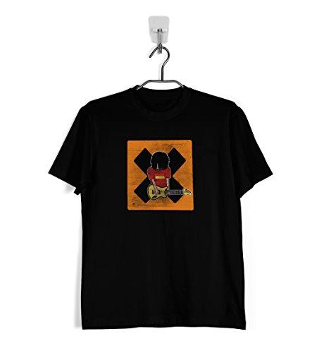 Ropa4 Camiseta Homenaje Los Planetas Efecto Desgastado (XXL)