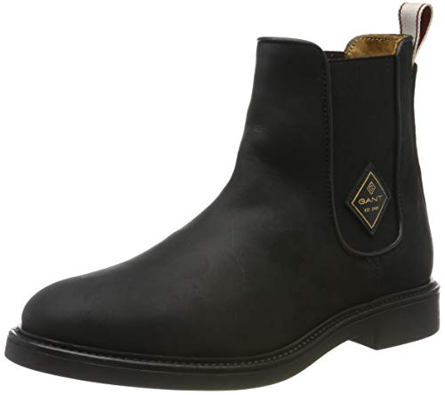 GANT Footwear Damen Ashley Chelsea Boots, Schwarz (Black G00), 38 EU