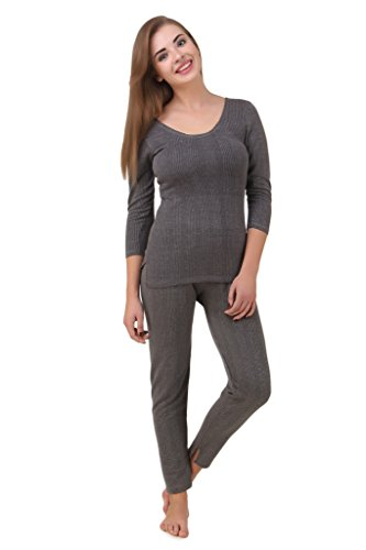 HAP Women's Poly Cotton Quilted Thermal Top, Trouser...