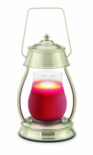 Candle Warmers Etc - Hurricane Lantern - Brushed Nickel