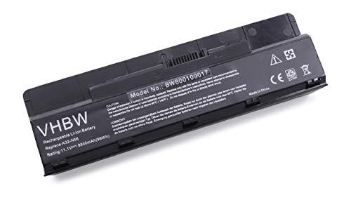 vhbw Akku für Asus N56, N56D, N56DP, N56V, N56VJ, N56VM, N56VZ Notebook Laptop wie A32-N56, A33-N56, A31-N56 - (Li-Ion, 8800mAh, 11.1V)
