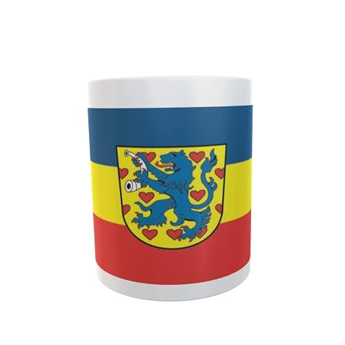 U24 Tasse Kaffeebecher Mug Cup Flagge Landkreis Gifhorn