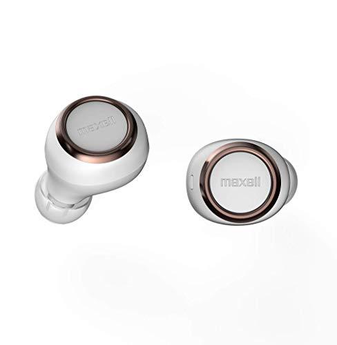 maxell MXH-BTW1000 完全ワイヤレス型 Bluetoothイヤホン TWS (WC ホワイト×カッパー)