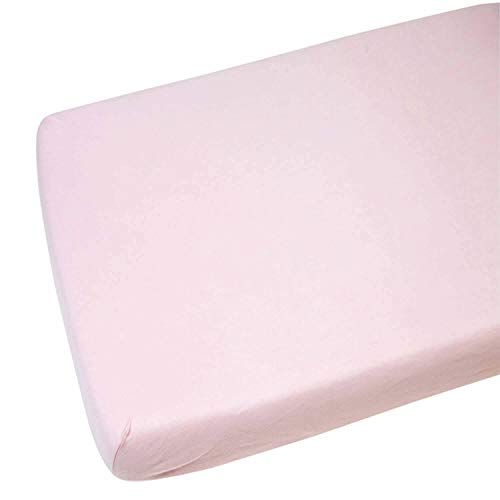 4X Crib Jersey Fitted Sheet 100/% Cotton 40 x 90cm White