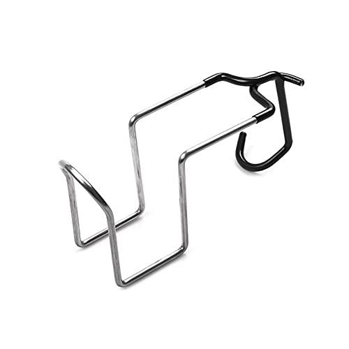XINGFUQY Porte-Bouteille d'eau Pince en Acier Inoxydable Multifonction Lampe Crochet Crochet Ajustement pour Camping de pêche en Plein air (Color : Silver)